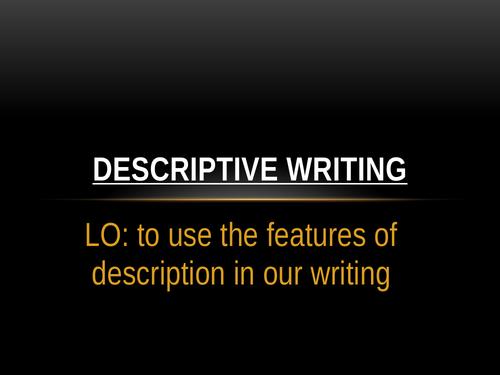 Writing resources based on old style iGCSE