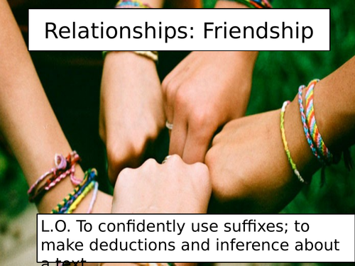 Of Mice and Men Lessons: Friendship