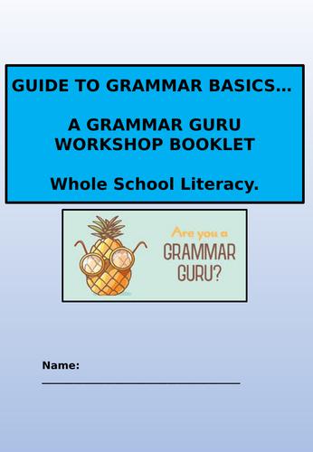 Grammar  Workbook/ activities pack.
