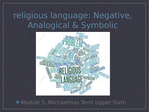 Religious Language: Negative, Analogical & Symbolic, OCR Religious Studies, Module 5