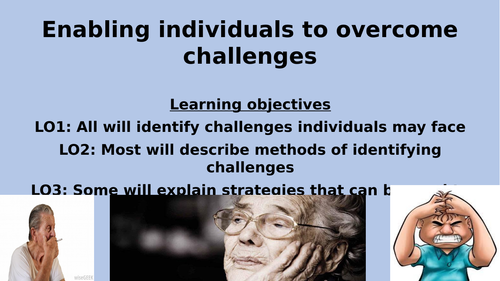 Unit 5 Meeting individual care need Complete learning aim C powerpoint