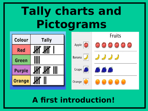 Tally Charts and Pictograms by Lresources4teachers - Teaching ...