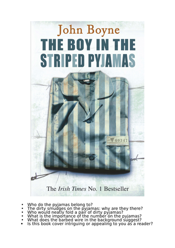 The  Boy in The Striped Pyjamas - Full SOW Unit - 30 lessons Year 7