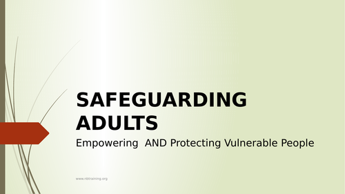 Safeguarding Adults in Health and Social Care