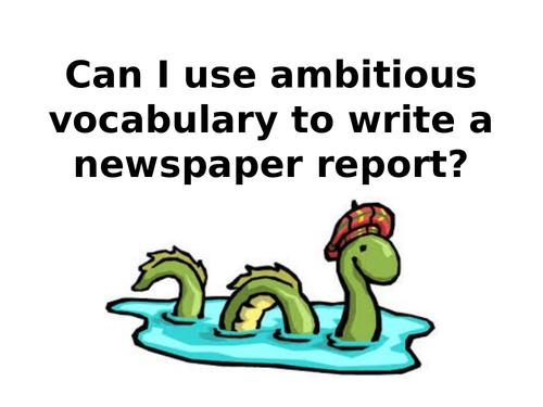 Loch Ness Monster Newspaper Report