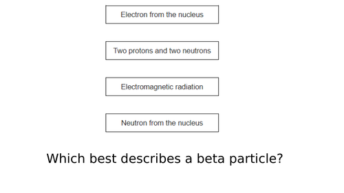AQA Radioactivity 100 Exam Question Bank