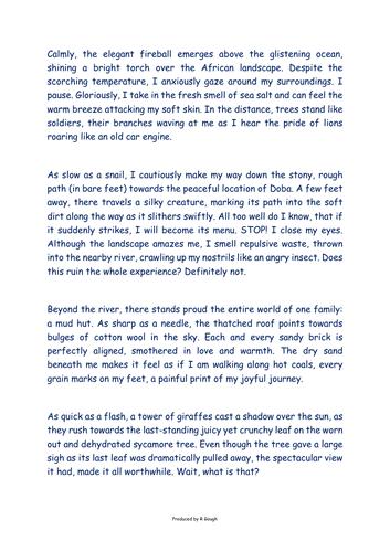 Journeys (Writing)