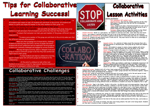 Collaborative Learning Mat