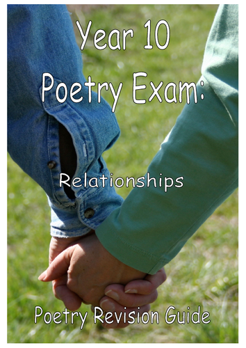 Relationship Poetry Booklet