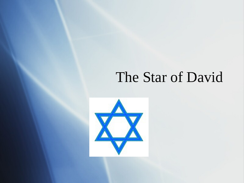 Introduction to Judaism and Star of David powerpoint