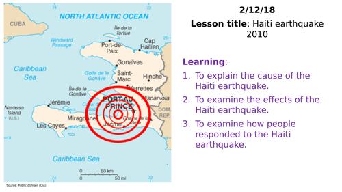 Haiti 2010 earthquake case study