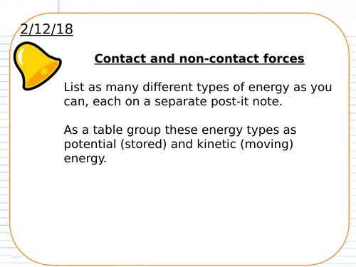 AQA GCSE Physics 9-1 Forces