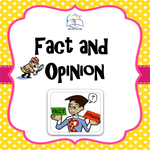 Fact and Opinion Lessons, Worksheets, and Games