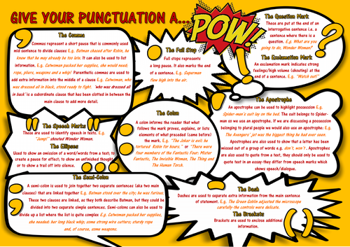 Punctuation Learning Mat