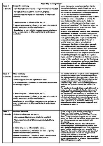 AQA English Language Paper 2, Q2