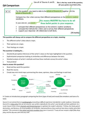 AQA English Language Paper 2, Q4