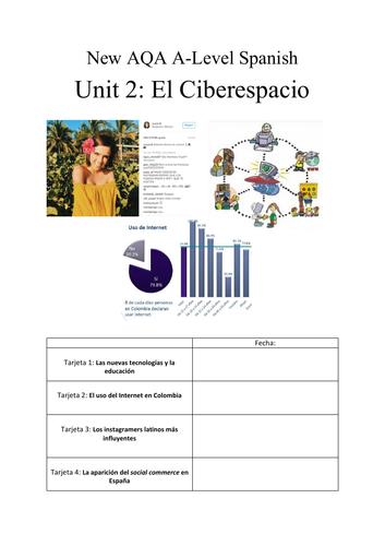 New AQA A-Level Spanish : El Ciberespacio