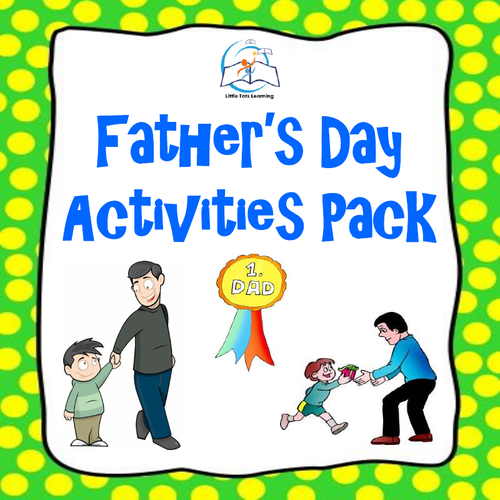 Father's Day Activities Pack