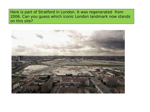 Urban regeneration Lea Valley London