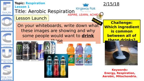 NEW AQA 4.4.2.1 - Aerobic and Anaerobic Respiration