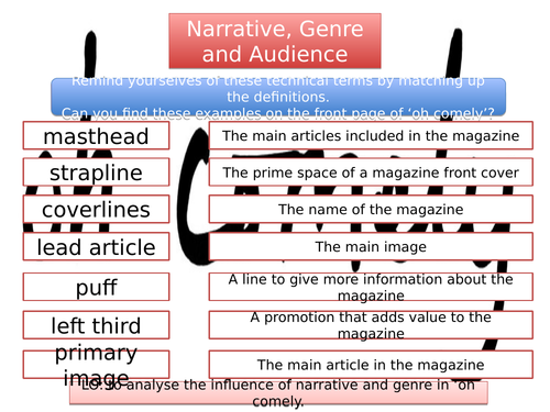 'Oh Comely' Narrative and Genre