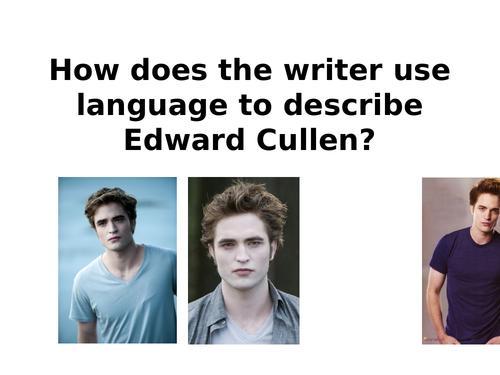 Describing Edward Cullen (Vampires/Twilight)