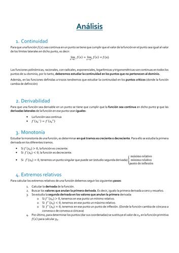 Análisis de funciones (In Spanish)