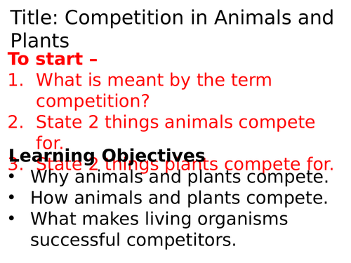 AQA Competition