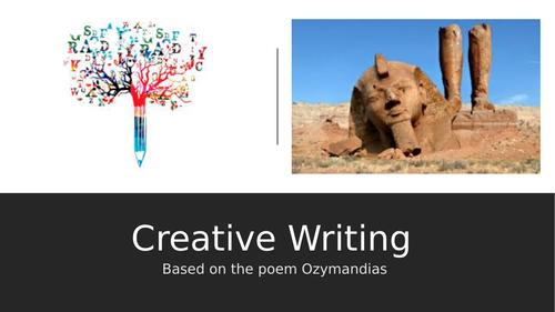Ozymandias Creative Writing Lesson