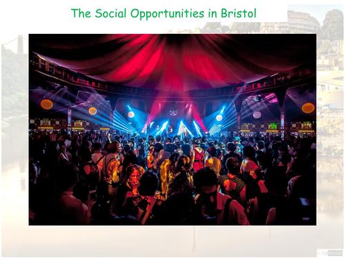 Social Opportunities in Bristol -AQA GCSE - The Urban World