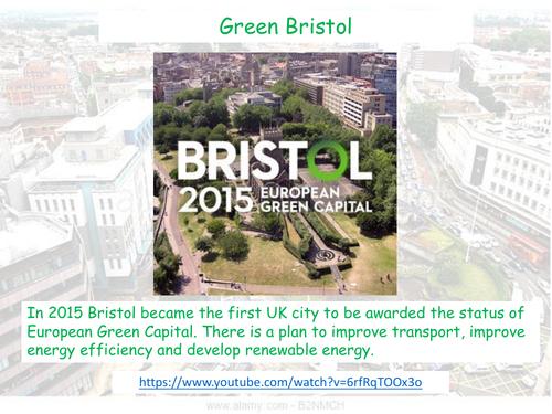 Transport in Bristol - AQA GCSE - The Urban World