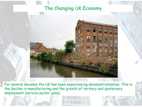 Changing UK Economy - AQA GCSE - The Development Gap