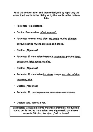 Mira 3 - Module 3: La Salud - Units 1-5