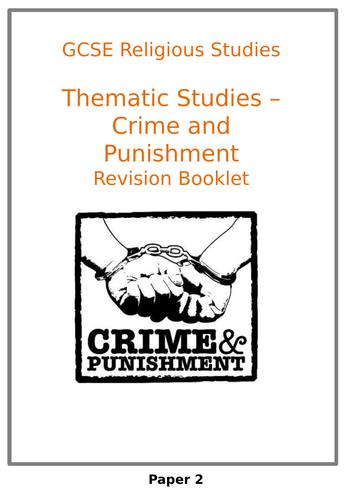 AQA RELIGIOUS STUDIES CRIME AND PUNISHMENT