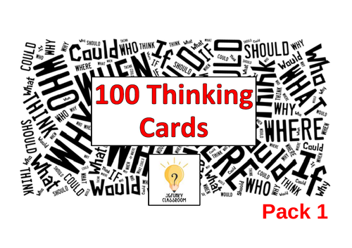 100 Thinking Cards - Pack 1