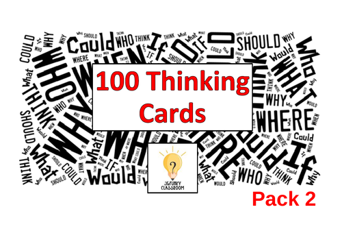 100 Thinking Cards - Pack 2