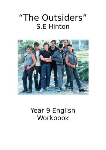 The Outsiders - Activity Book