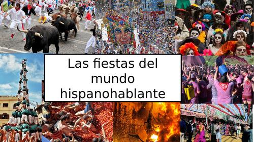 GCSE Spanish: Festivals