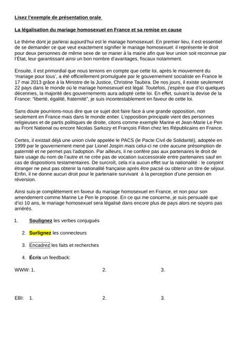 Exemple de présentation orale IRP (Individual Research Project)