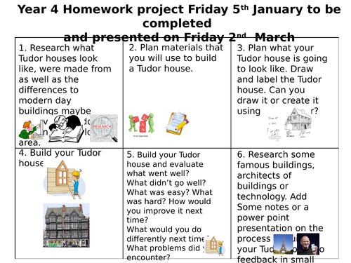 Tudor House Homework Project