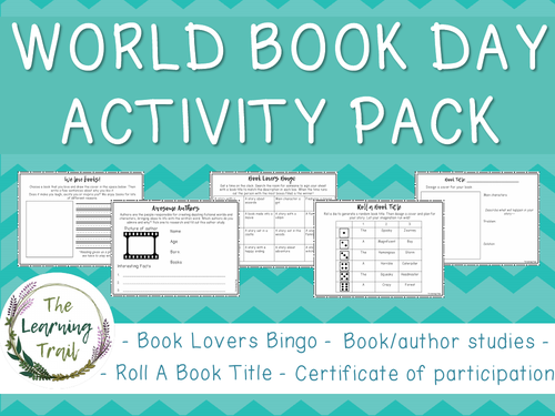 World Book Day Activity Pack