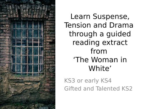 Suspense Tension Drama KS3 via C19th Woman in White