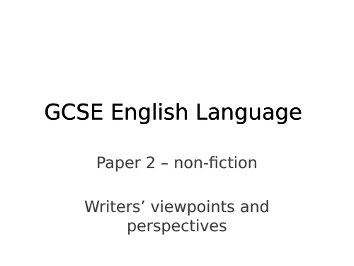 KS4, AQA GCSE Eng Lang, paper 2, question 2, question 3, CHILDHOOD, inference, synthesis, language