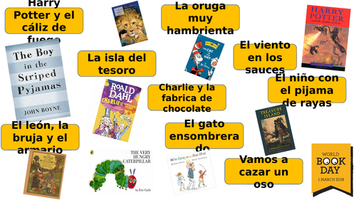 Spanish and French World Book Day