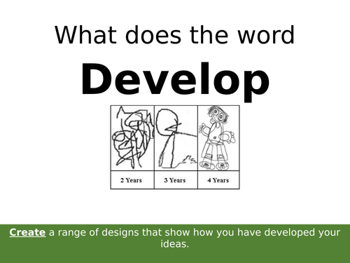 AQA GCSE Art and Design Graphic Communication Developing Ideas