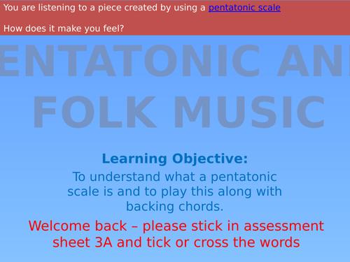 Folk Music SoW