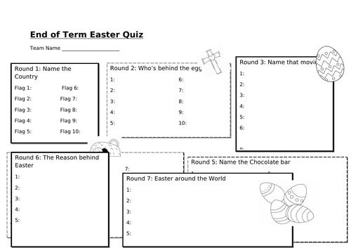 Easter Quiz (2019)