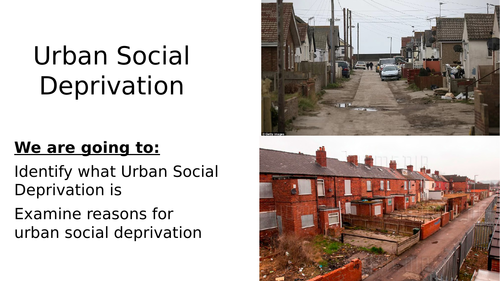 social deprivation Social deprivation can be a broad and sometimes confusing term used in different fields through this lesson, you will learn how to define social.