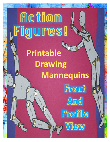 Action Figures - Printable Mannequins