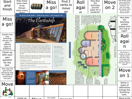 Yet More Reading Comprehension Games - KS2 Year 6. SATS style questions made fun.